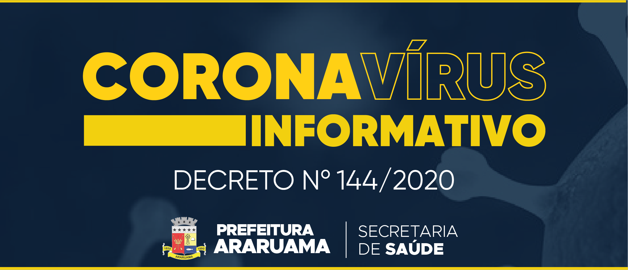 Prefeitura de Araruama publica decreto sobre flexibilização parcial de atividades econômicas do município
