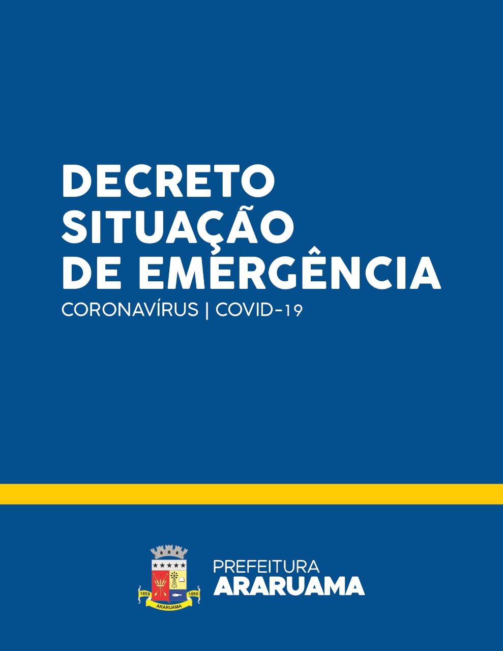 Prefeitura de Araruama decreta Situação de Emergência no Município