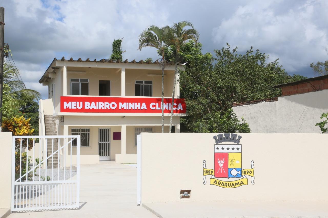 Prefeitura de Araruama inaugura Clínica da Saúde em Sobradinho, São Vicente de Paula
