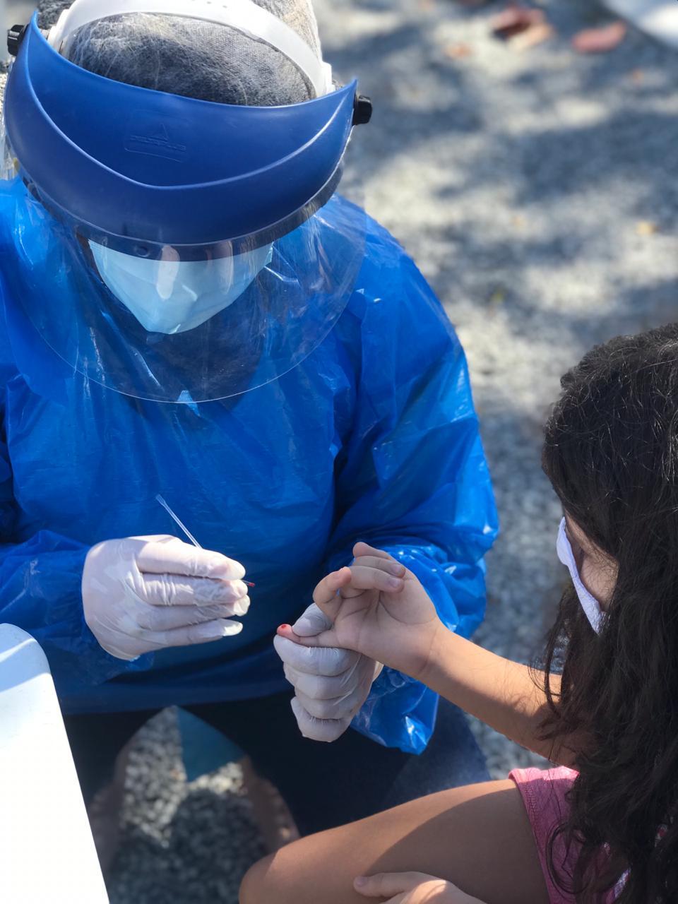 Dia D da Conscientização sobre os riscos do Coronavírus no bairro Ponte dos Leites, em Araruama, identifica 8 pessoas com a doença