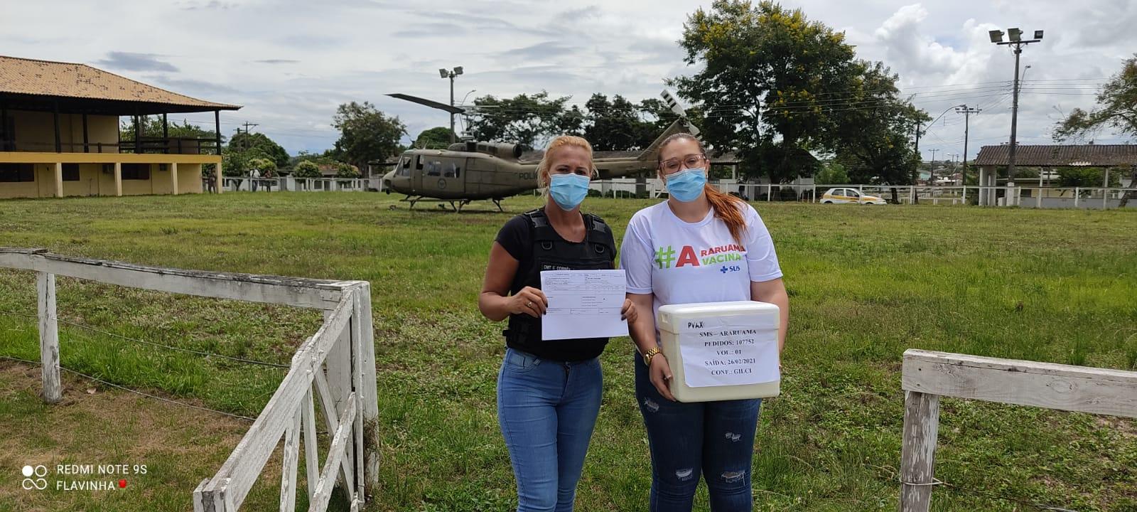Araruama recebe novo lote de vacina contra a Covid-19 nessa segunda-feira