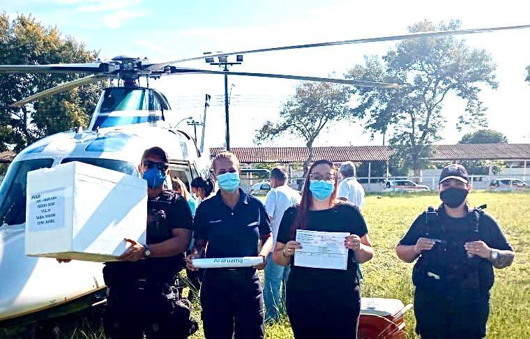 Prefeitura de Araruama recebe novo lote da vacina Coronavac