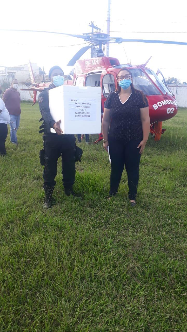 Prefeitura de Araruama recebe mais um lote da vacina Astrazeneca