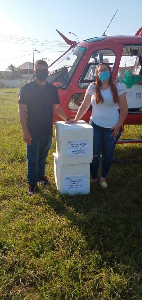 Prefeitura de Araruama recebe novos lotes de vacinas da Coronavac e Astrazeneca