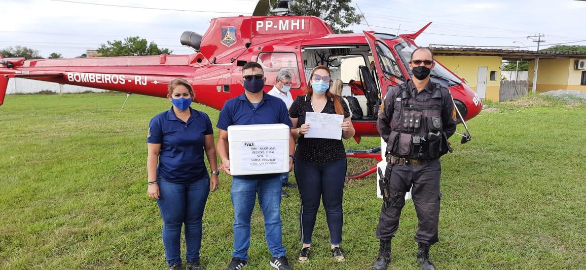 Prefeitura de Araruama recebe novo lote de vacinas para segunda dose contra a Covid-19