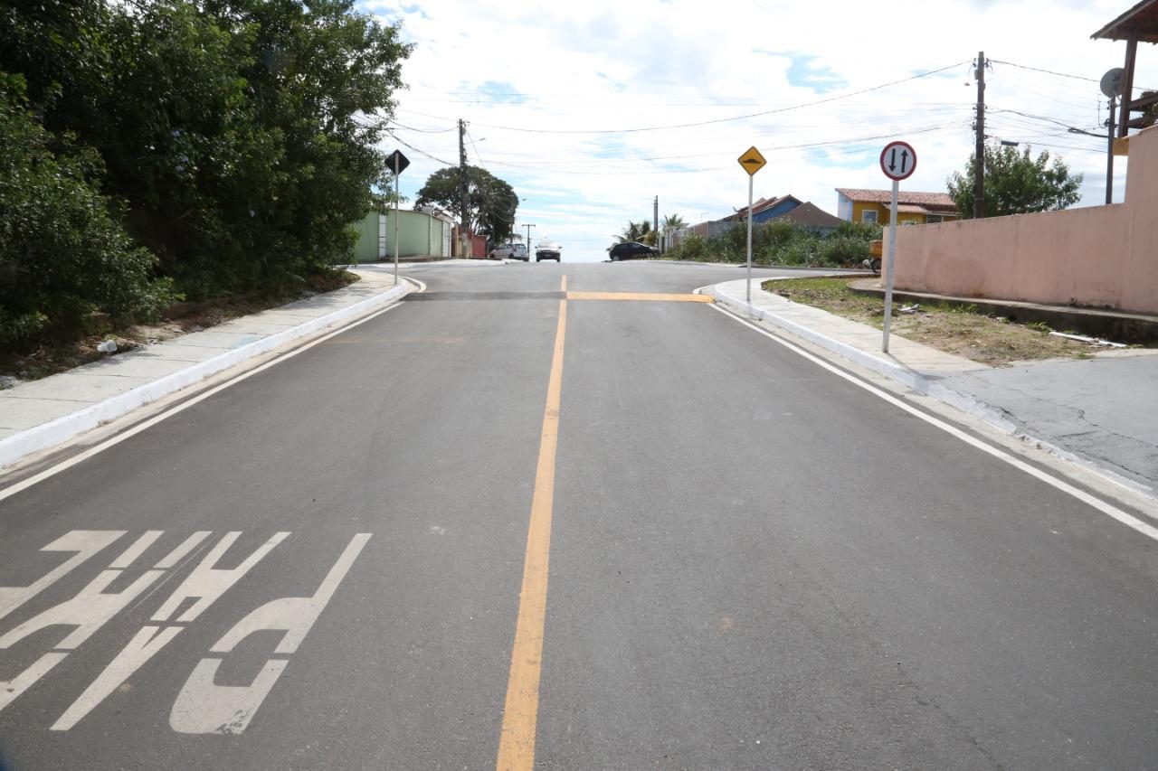 Prefeitura de Araruama inaugura obras de drenagem e asfaltamento na Vila Capri